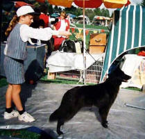Jess around 9 years old, showing Jeddah